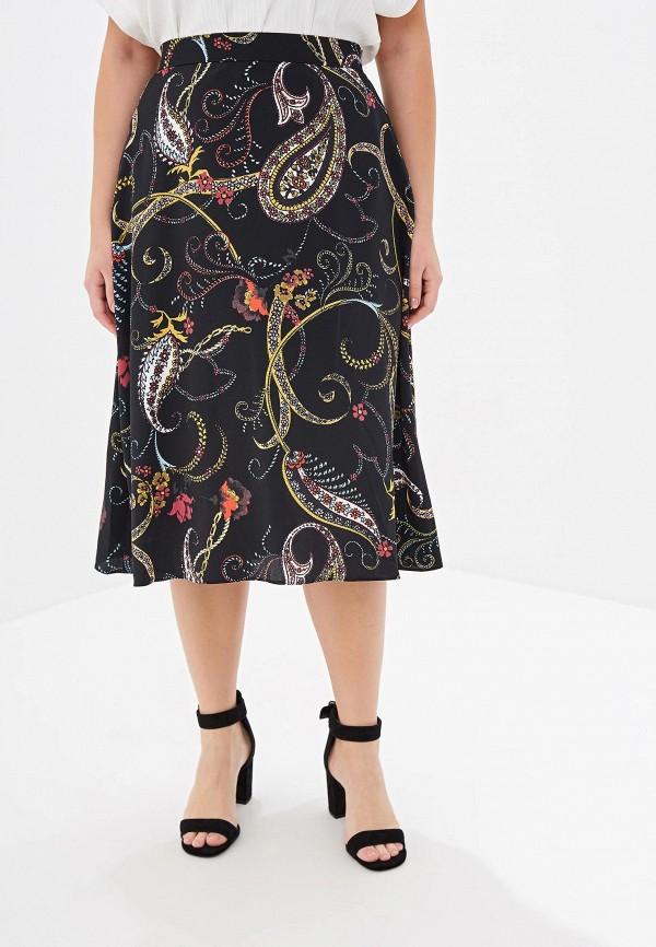 Фото - Женскую юбку Dorothy Perkins Curve черного цвета