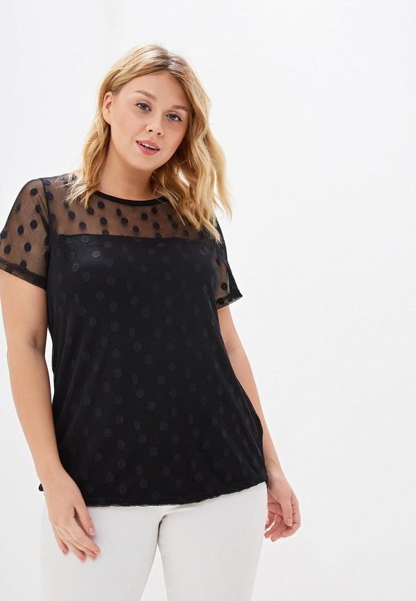 Фото - Женскую блузку Dorothy Perkins Curve черного цвета