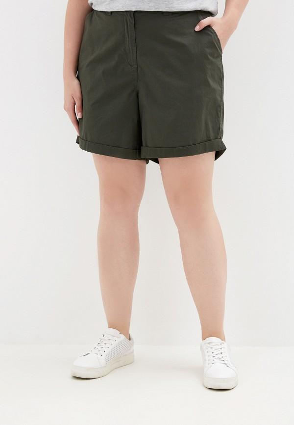 женские шорты dorothy perkins curve, хаки