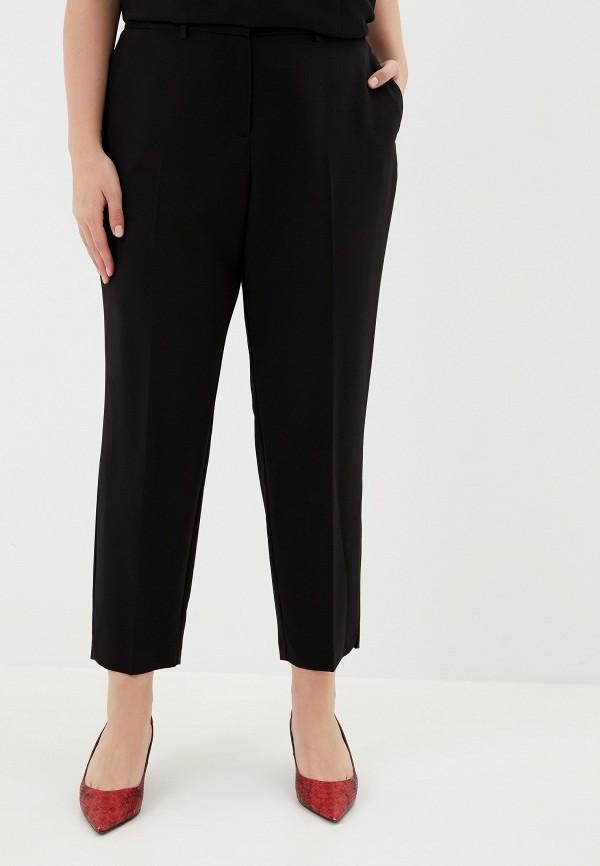 женские повседневные брюки dorothy perkins curve, черные