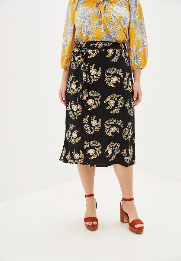 Купить Женскую юбку Dorothy Perkins Curve черного цвета