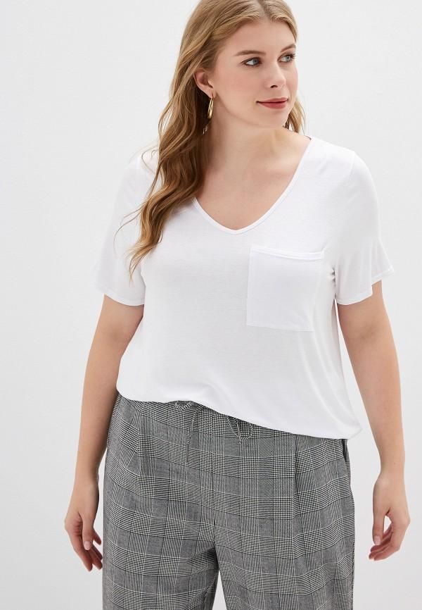 Купить Женскую футболку Dorothy Perkins Curve белого цвета