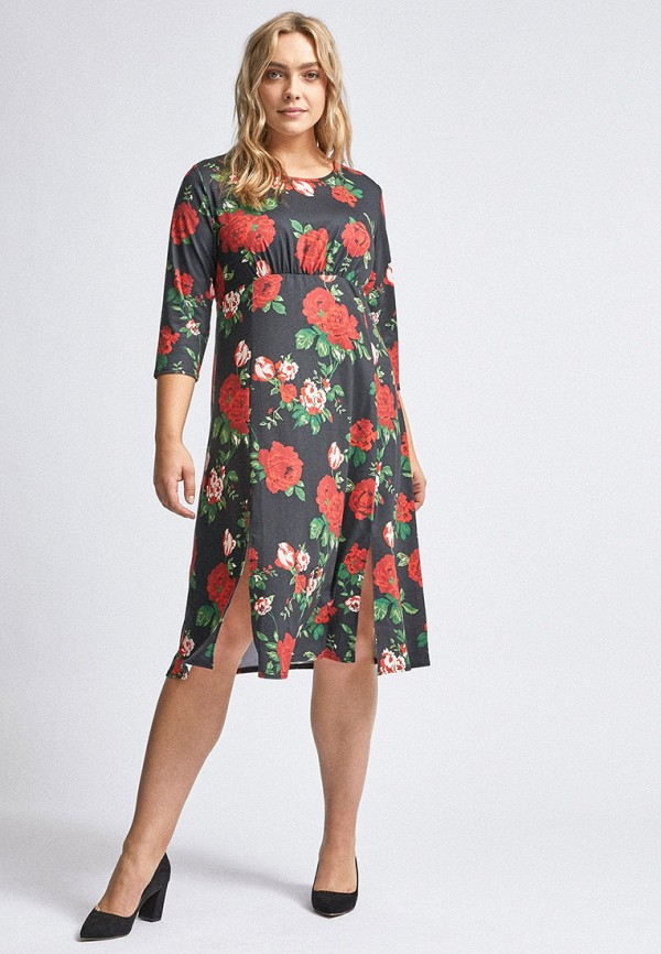 женское повседневные платье dorothy perkins curve, черное