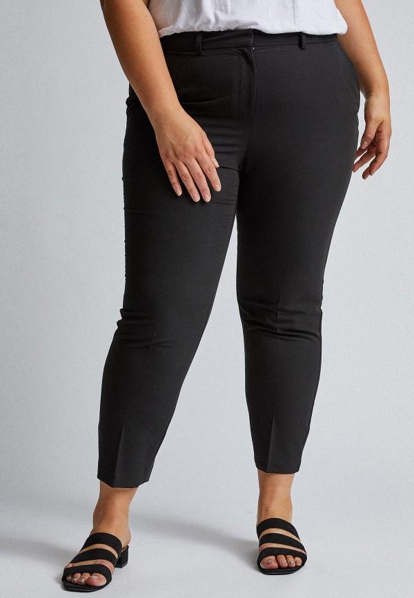 женские прямые брюки dorothy perkins curve, черные