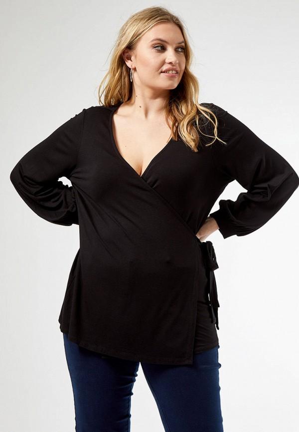 женская блузка dorothy perkins curve, черная