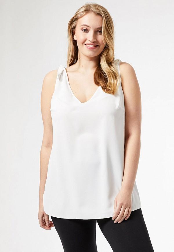 женская блузка dorothy perkins curve, белая