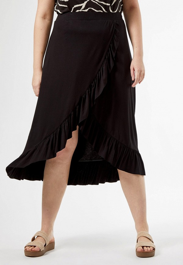 женская юбка dorothy perkins curve, черная