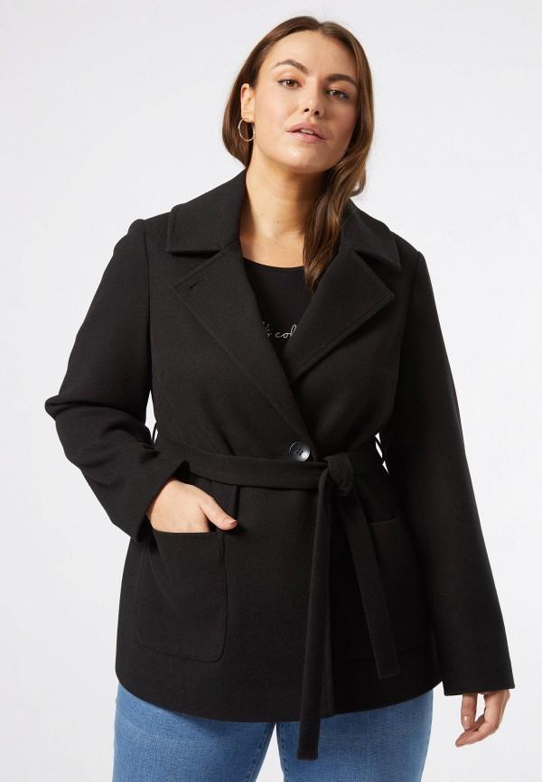 женское пальто dorothy perkins curve, черное