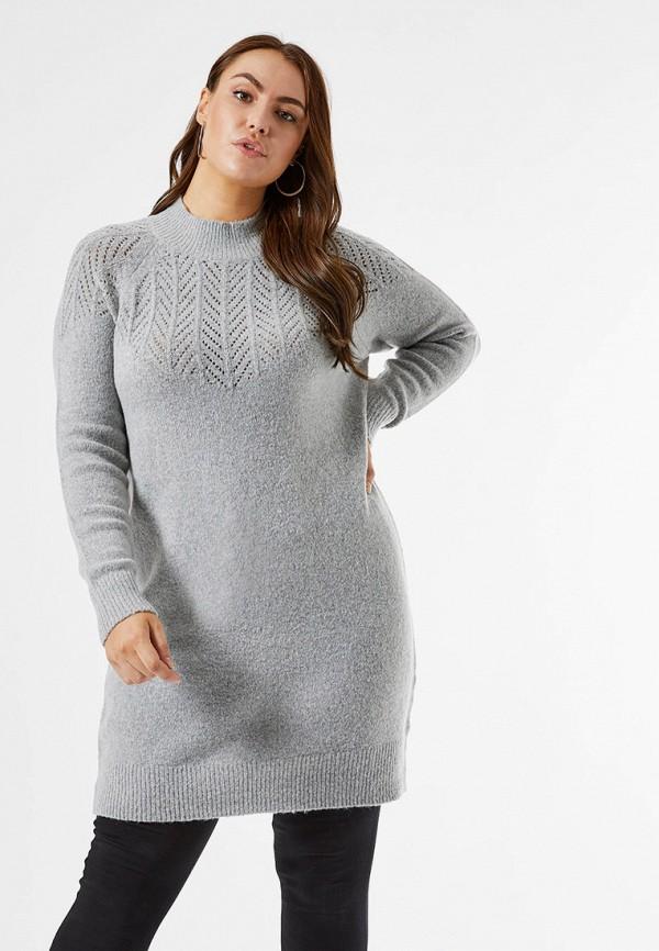 женское платье dorothy perkins curve, серое