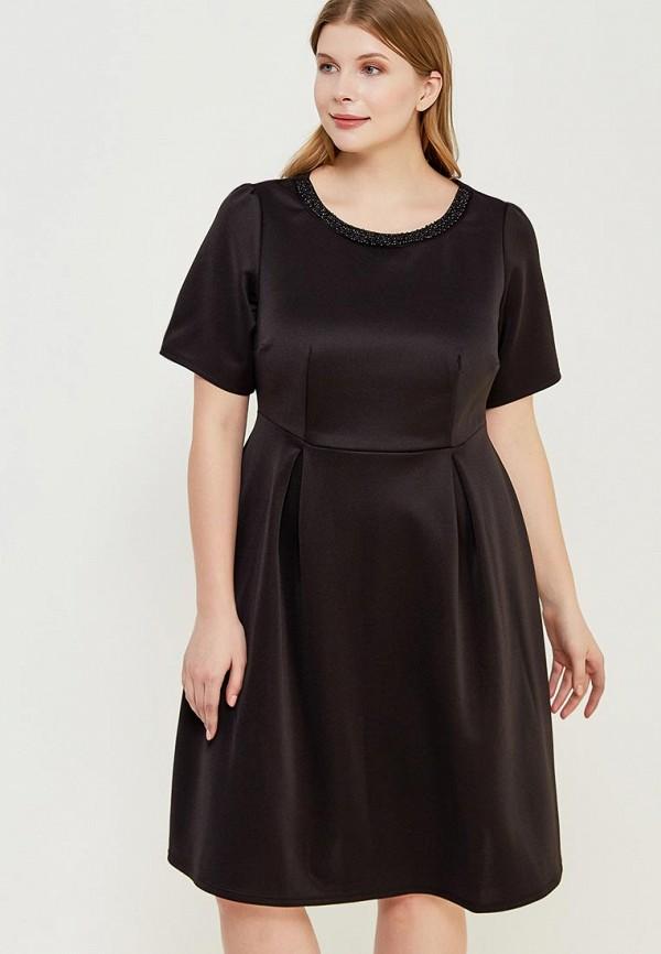 Купить Платье Dorothy Perkins Curve, do029ewzvf45, черный, Весна-лето 2018