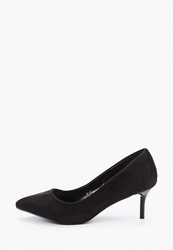 женские туфли donna moda, черные