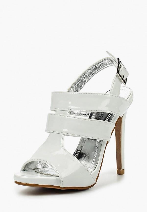 женские босоножки donna moda, белые