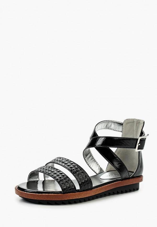 женские сандалии donna moda, черные