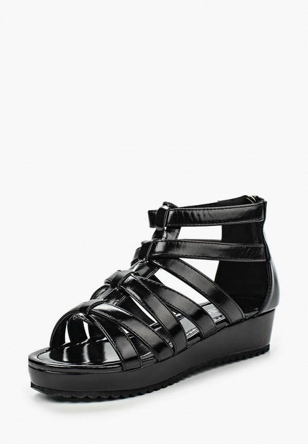 женские босоножки donna moda, черные