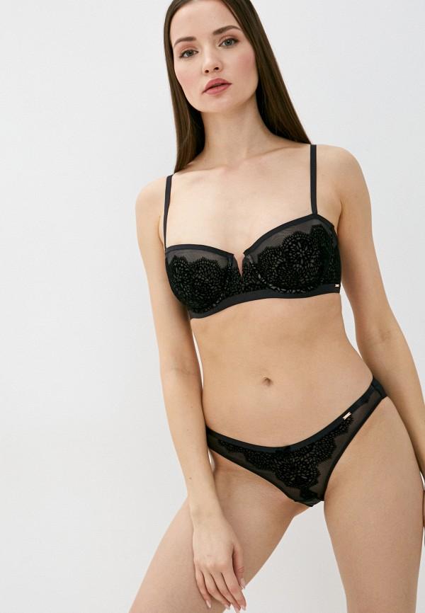 женский бюстгальтер на косточках dorina, черный