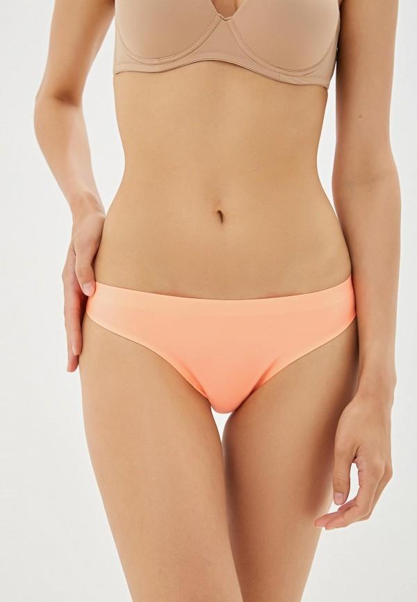 женские трусы donafen, оранжевые