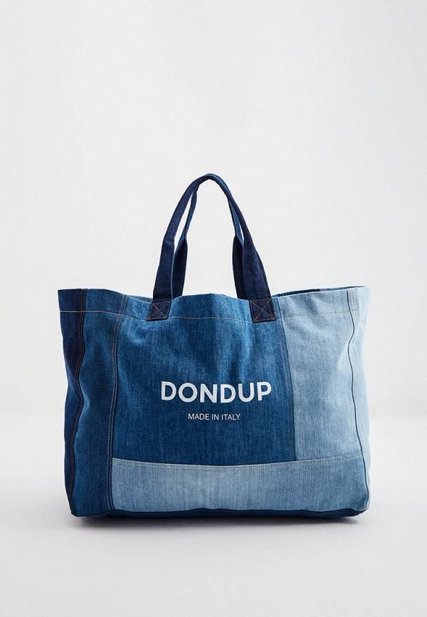 женская сумка dondup, синяя