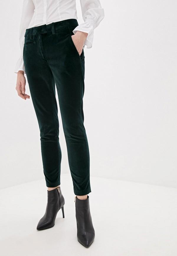 женские повседневные брюки dondup, зеленые