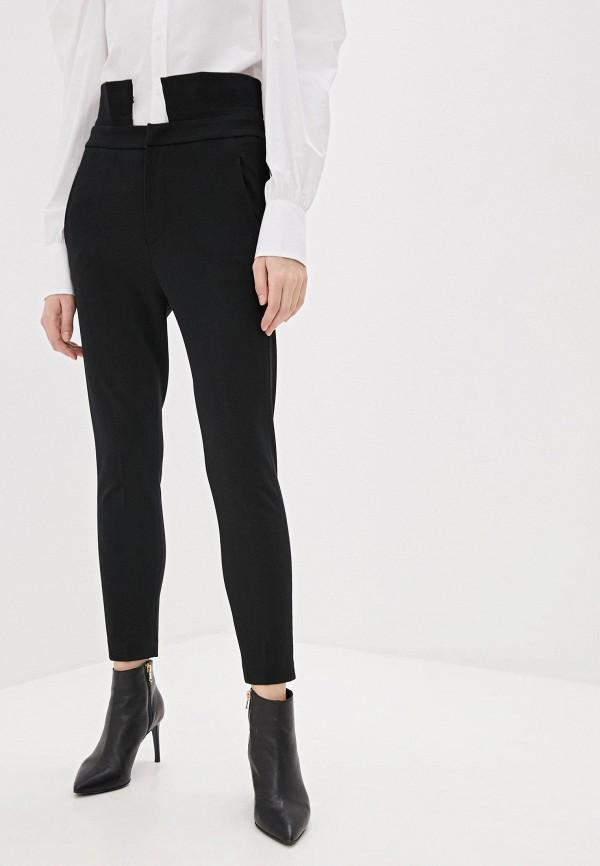 женские классические брюки dondup, черные