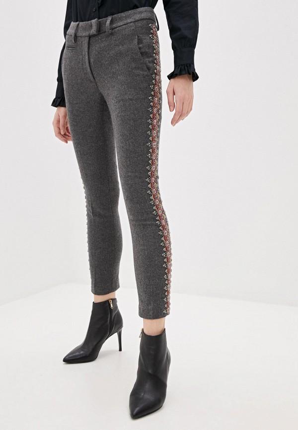 женские повседневные брюки dondup, серые