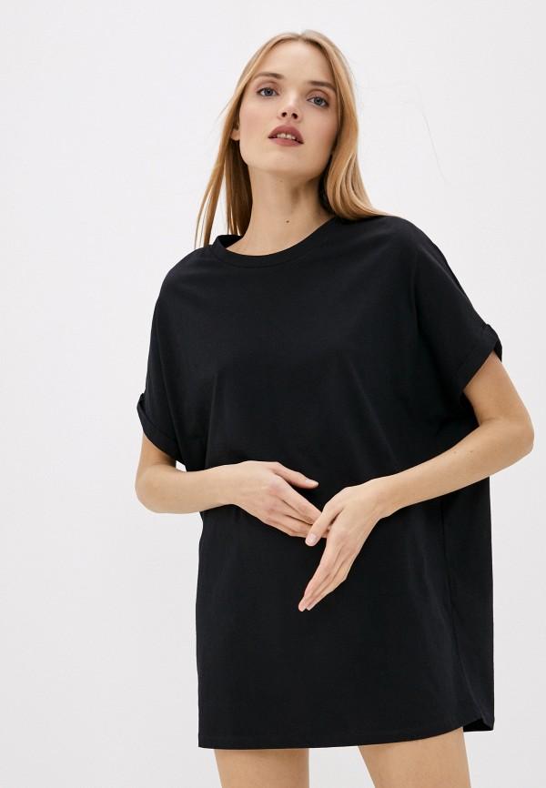 женское платье dondup, черное