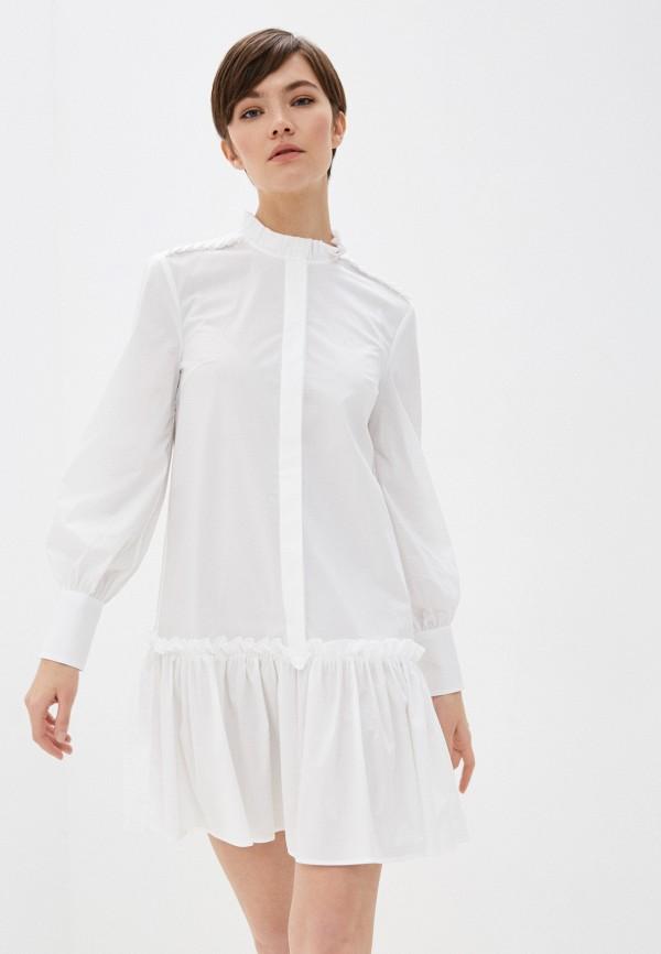 женское платье dondup, белое