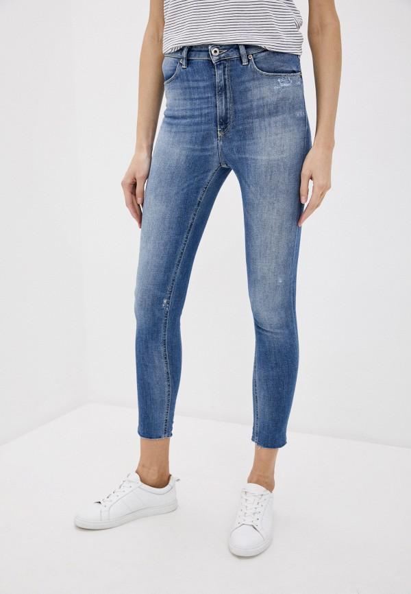 женские джинсы dondup, синие