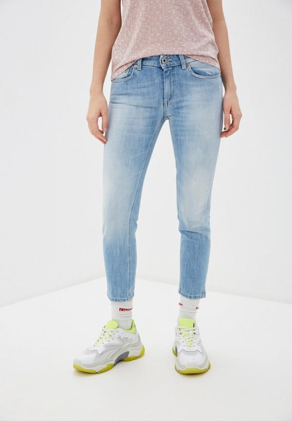 женские джинсы dondup, голубые
