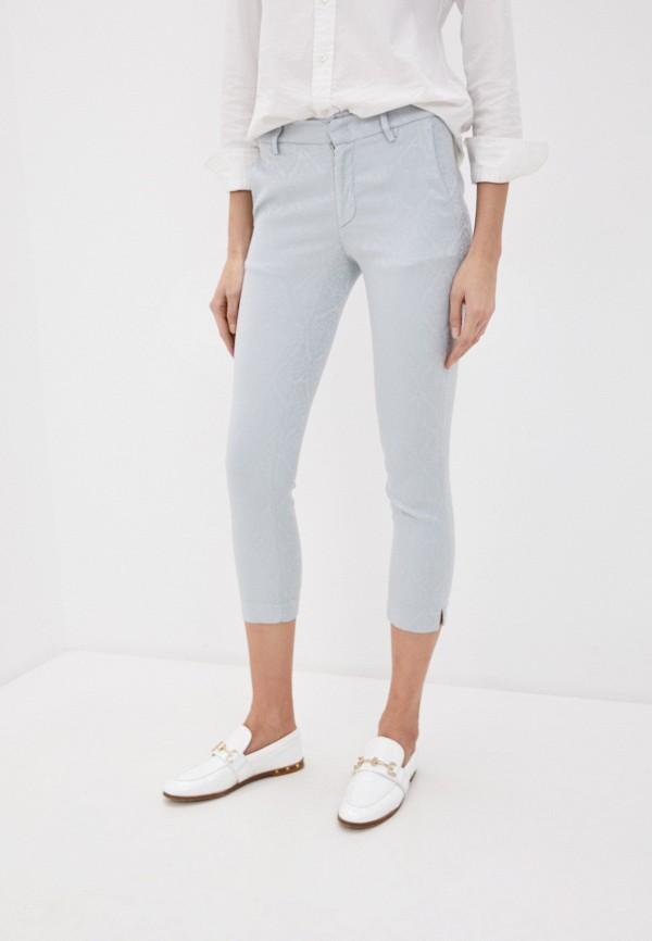женские повседневные брюки dondup, голубые