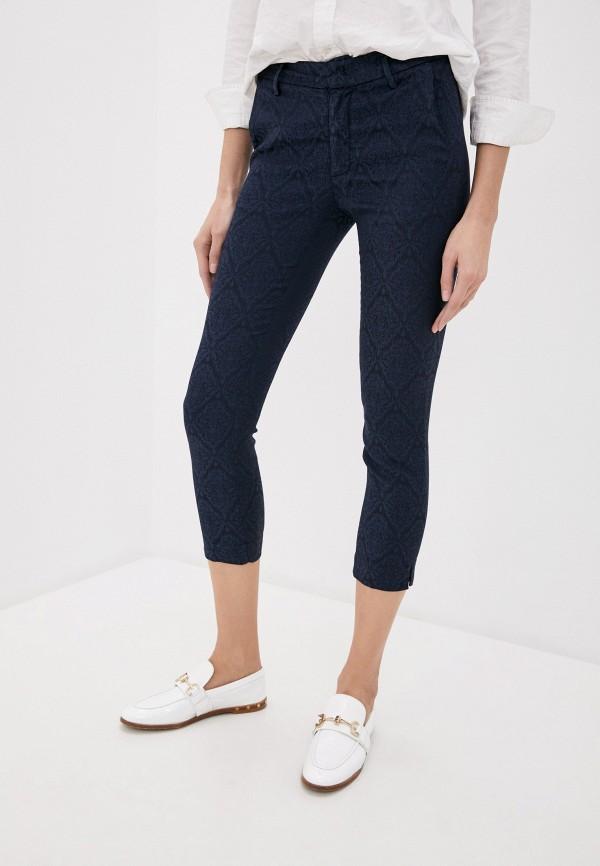 женские повседневные брюки dondup, синие