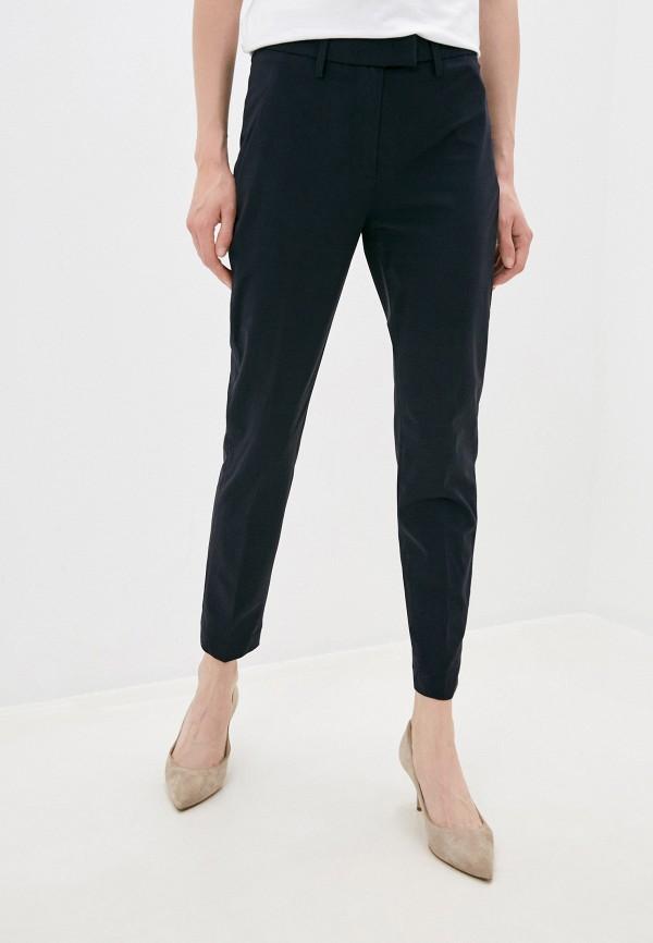 женские классические брюки dondup, синие