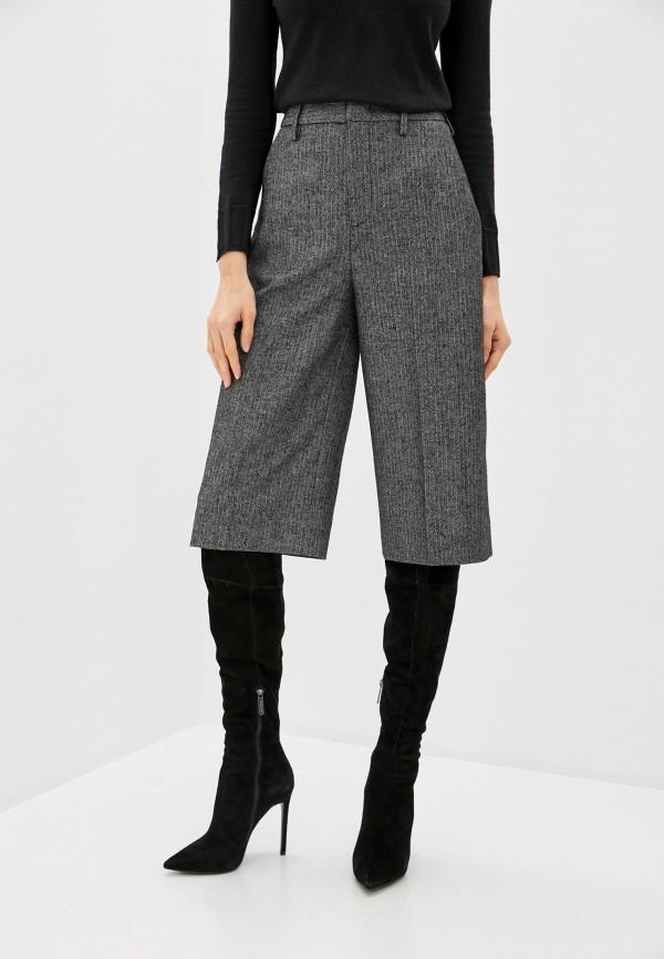женские брюки кюлоты dondup, серые