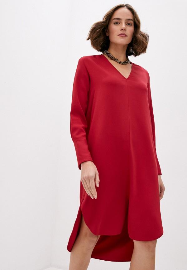 женское повседневные платье dondup, красное