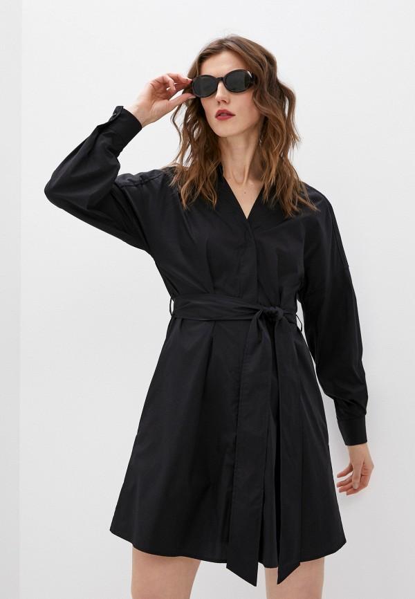 женское повседневные платье dondup, черное