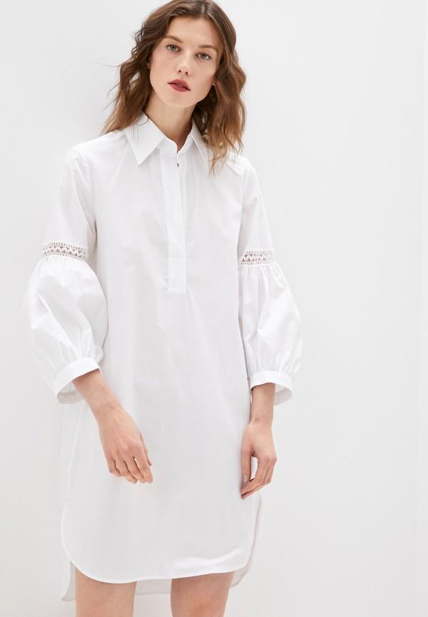 женское повседневные платье dondup, белое
