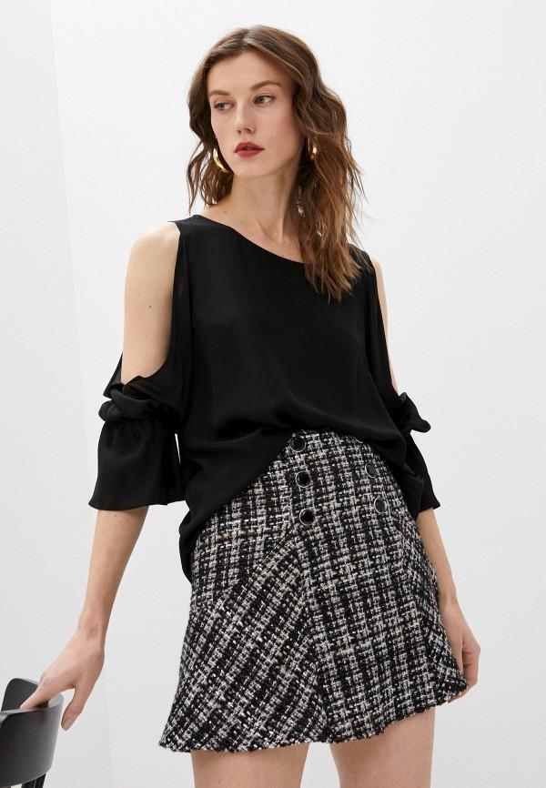 женская блузка dondup, черная