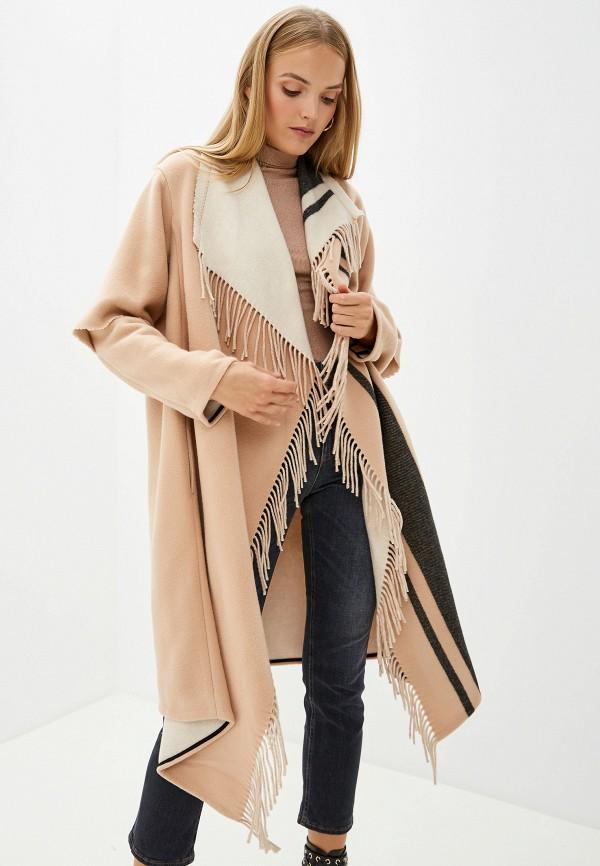 женское пальто dorothee schumacher, бежевое