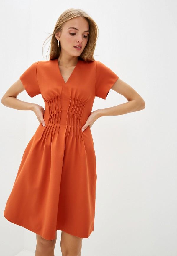 женское повседневные платье dorothee schumacher, оранжевое