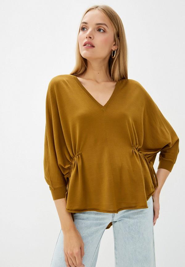 женский пуловер dorothee schumacher, золотой