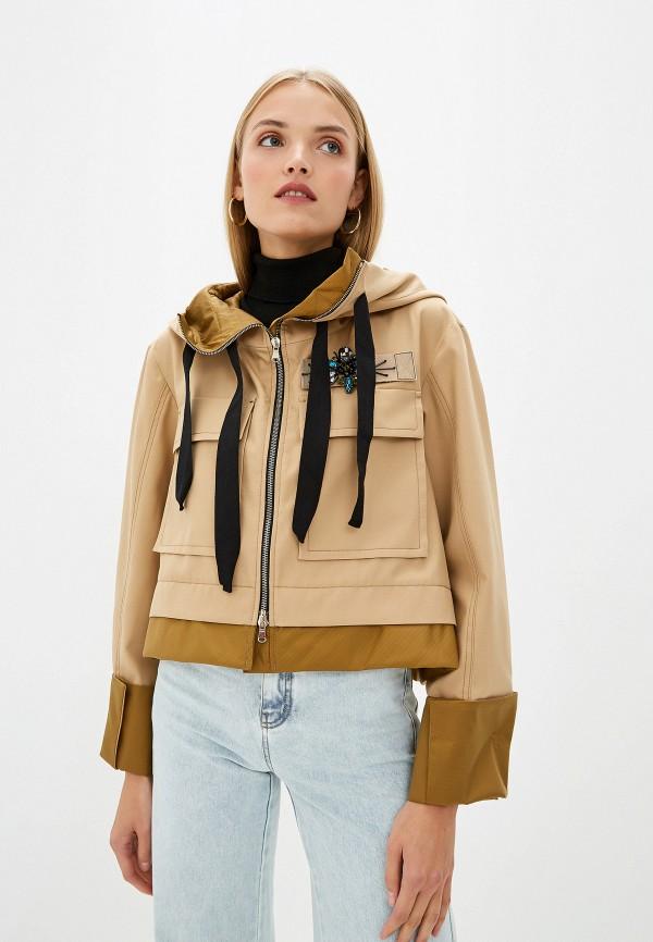 женская куртка dorothee schumacher, бежевая