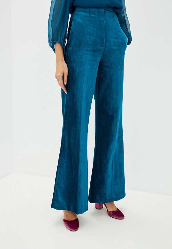 женские классические брюки dorothee schumacher, бирюзовые