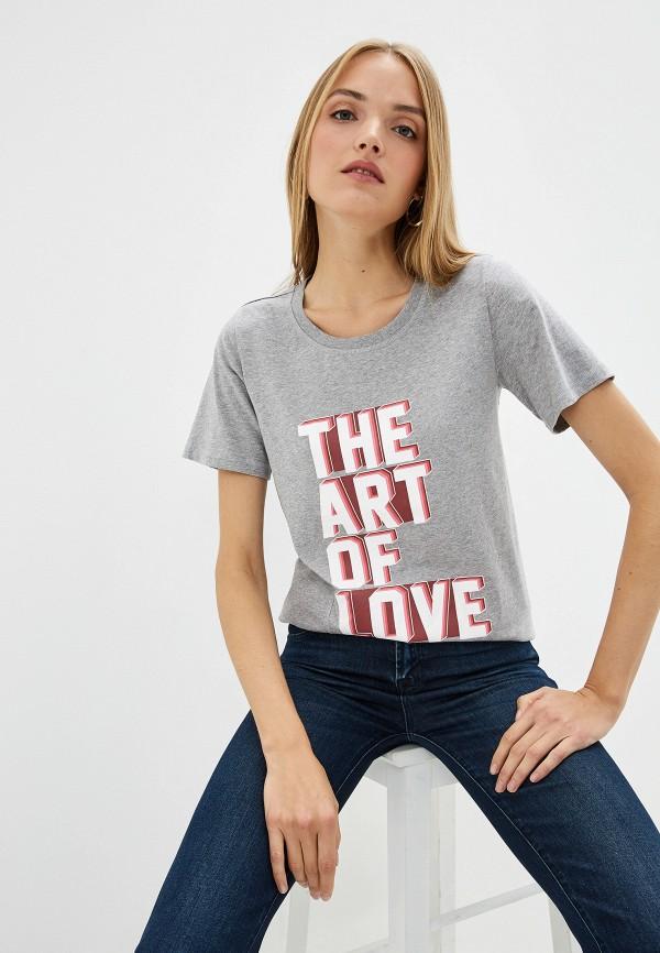 женская футболка dorothee schumacher, серая