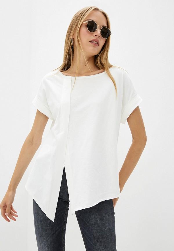 женская футболка dorothee schumacher, белая