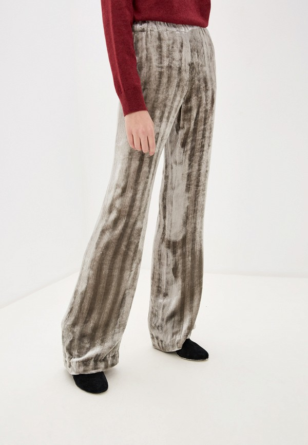 женские повседневные брюки dorothee schumacher, серые
