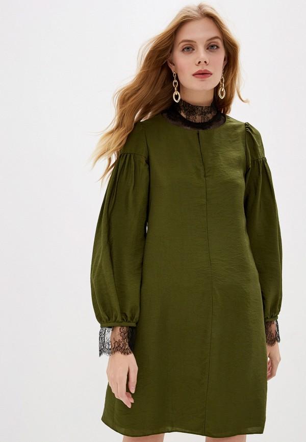 женское повседневные платье dorothee schumacher, зеленое