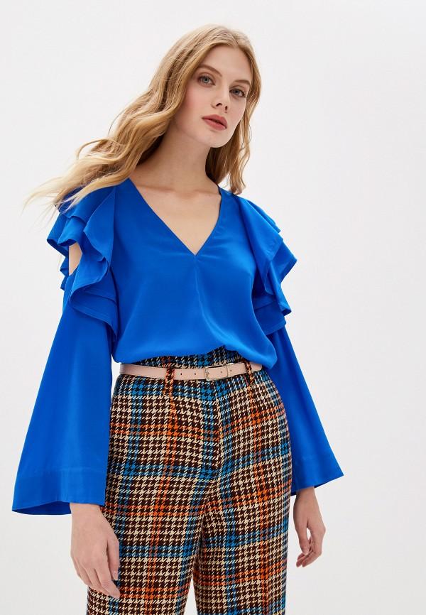 женская блузка dorothee schumacher, синяя