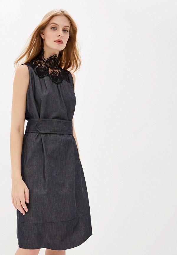 женское повседневные платье dorothee schumacher, серое