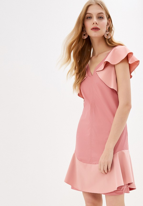 женское повседневные платье dorothee schumacher, розовое