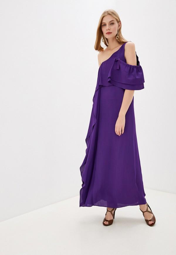 женское вечерние платье dorothee schumacher, фиолетовое
