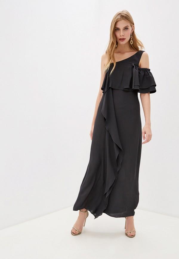 женское вечерние платье dorothee schumacher, черное